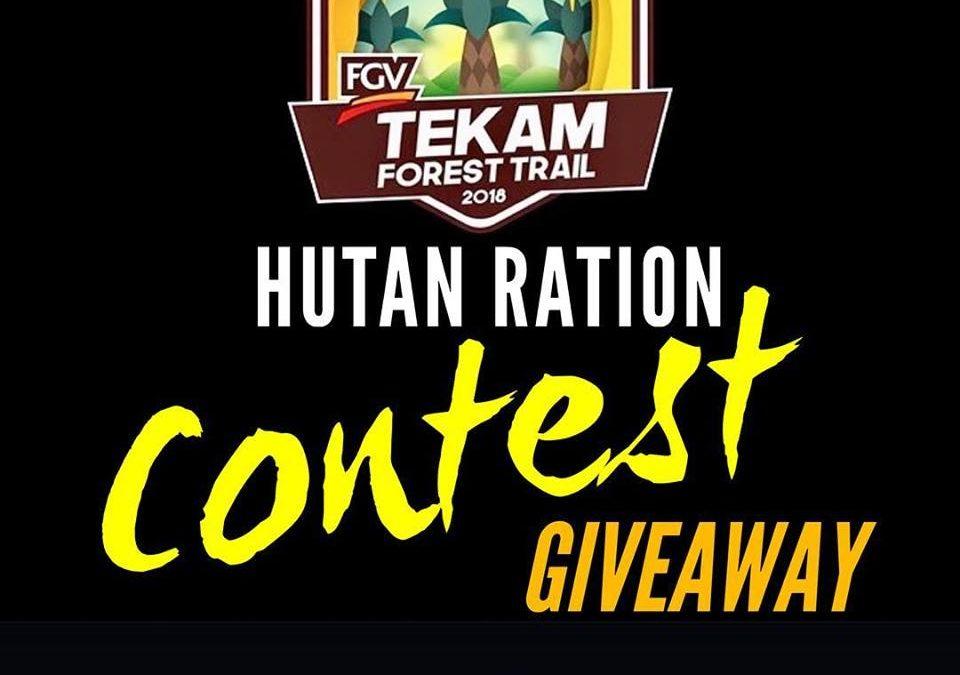 Hutan Ration – Official Partner for FGV Tekam Forest Run 2018